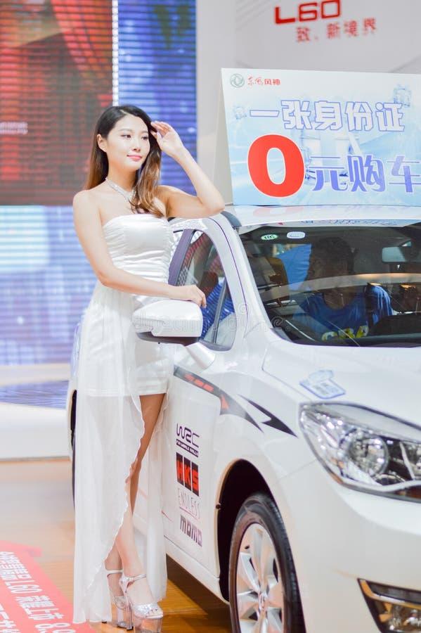 ` Китая XI модель автосалона стоковое изображение