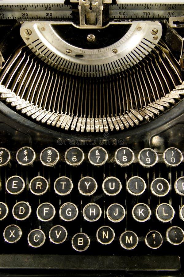 Клавиатура год сбора винограда стоковое фото rf