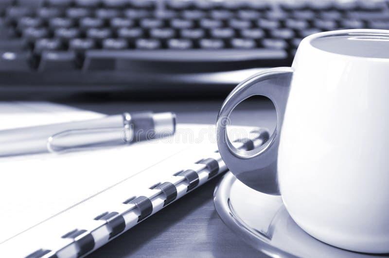 клавиатура кофе стоковое фото