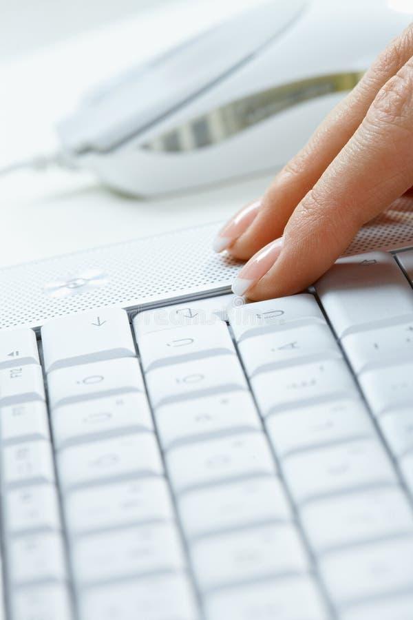 клавиатура перстов стоковые изображения