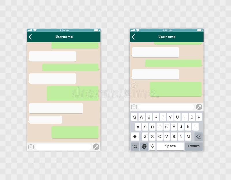 Клавиатура черни whith шаблона app болтовни принципиальная схема цифрово произвела высокий social res сети изображения также вект иллюстрация вектора