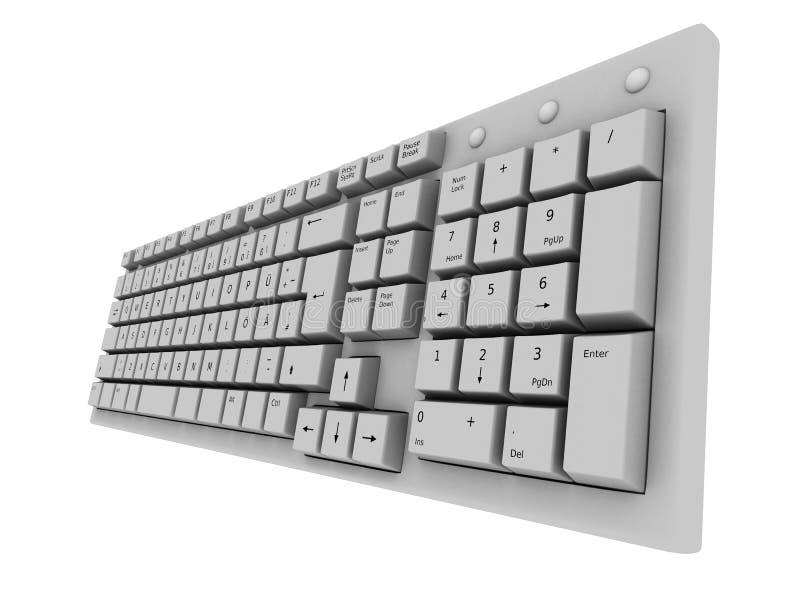 клавиатура 3d бесплатная иллюстрация