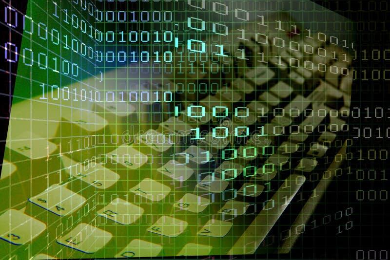клавиатура cyber иллюстрация вектора