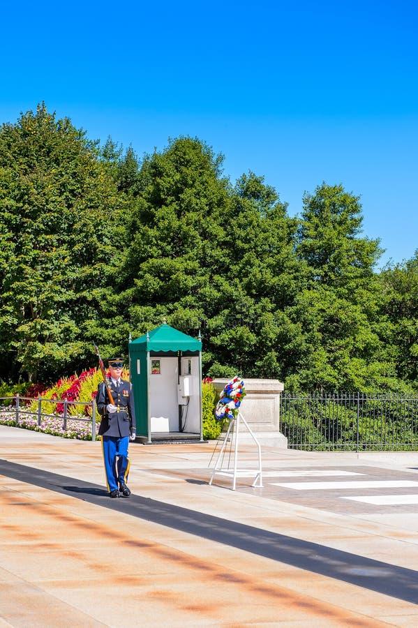 Кладбище Арлингтона национальное, Вашингтон стоковая фотография rf