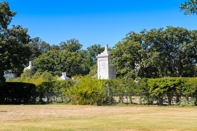 Кладбище Арлингтона национальное, Вашингтон стоковое изображение
