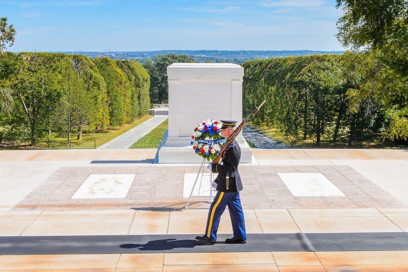 Кладбище Арлингтона национальное, Вашингтон стоковые фото