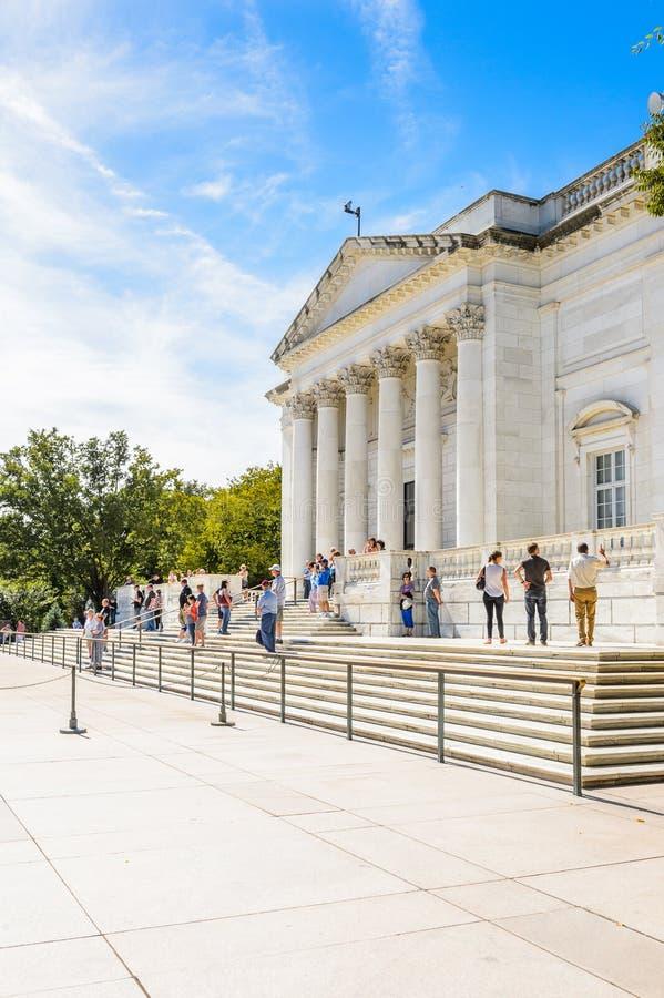 Кладбище Арлингтона национальное, Вашингтон стоковая фотография