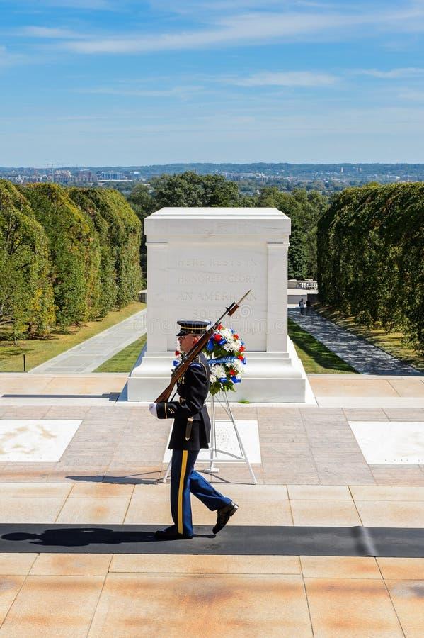 Кладбище Арлингтона национальное, Вашингтон стоковые фотографии rf