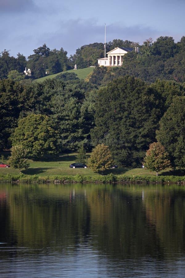 Кладбище Арлингтона национальное стоковые изображения