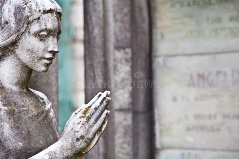 кладбище европа зодчеств стоковая фотография rf
