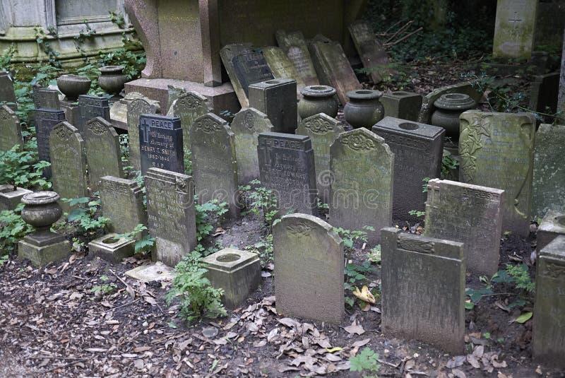 Кладбище парка Abney стоковое фото rf