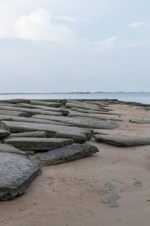 Кладбище Сьюзан Hoi раковины Krabi стоковое фото