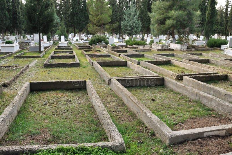 кладбище стоковая фотография rf