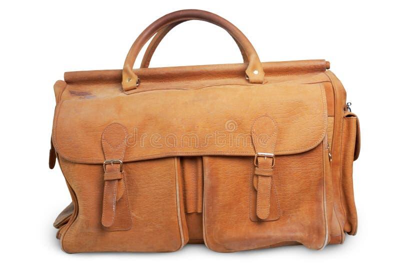 кладет багаж в мешки старый стоковая фотография