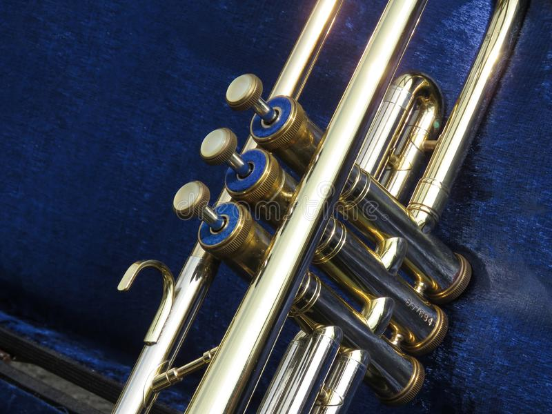 Клапаны трубы стоковое изображение rf