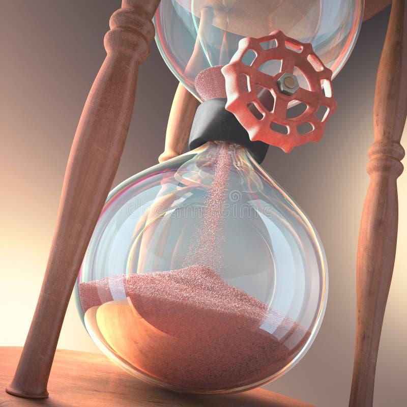 Клапан часов иллюстрация штока