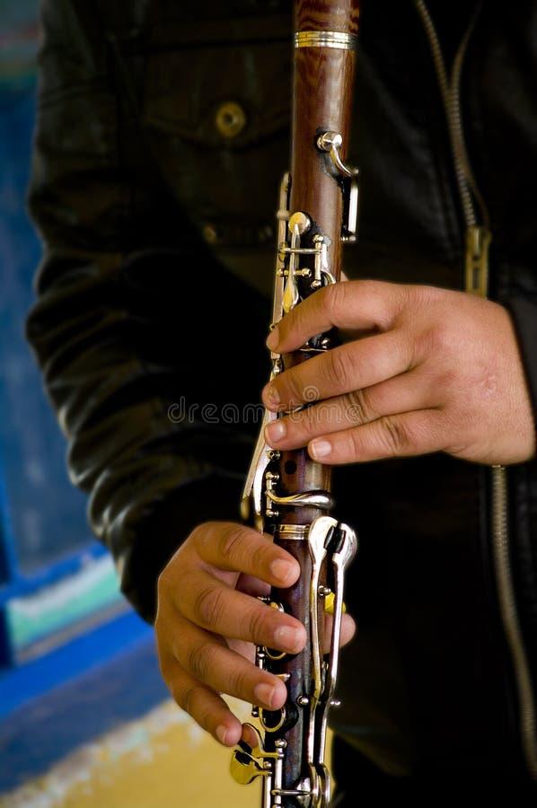 кларнет стоковое фото