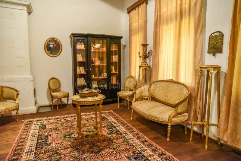 Download классицистическая живущая комната Стоковое Фото - изображение: 101190664