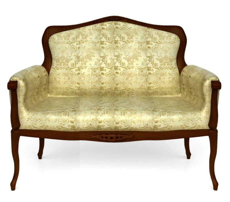 классицистическая софа стоковое изображение rf