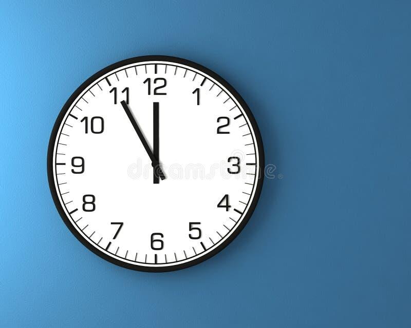 классицистическая стена часов иллюстрация штока