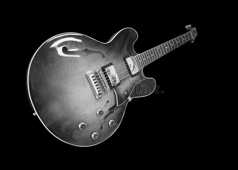 классицистическая электрическая гитара стоковые изображения rf
