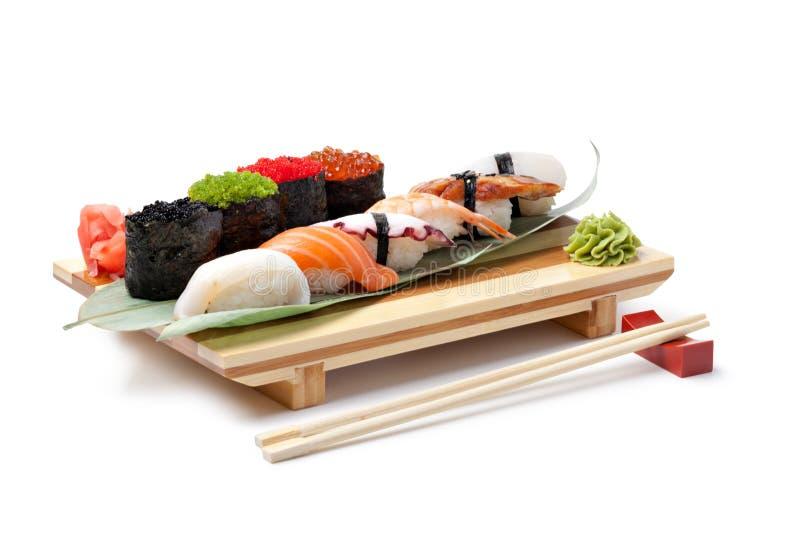 Классицистическая японская еда стоковая фотография rf