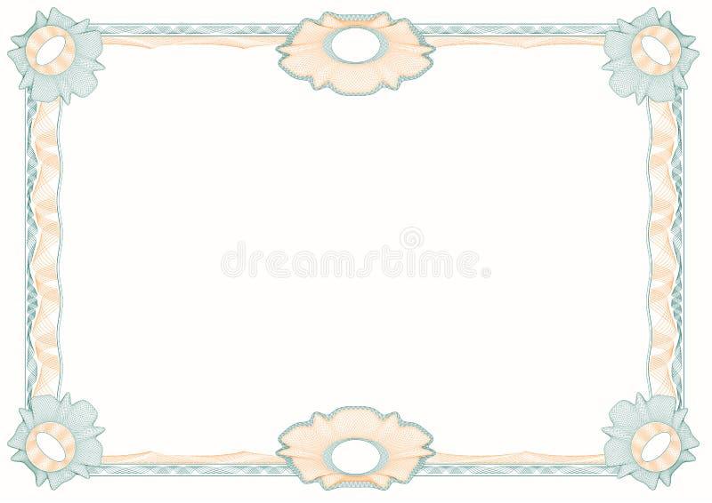 классицистические декоративные розетки guilloche рамки иллюстрация штока