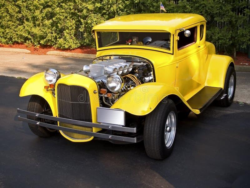 классицистический желтый цвет стоковая фотография rf