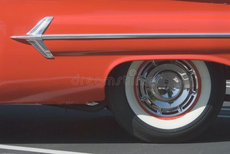 классицистический красный цвет стоковая фотография rf