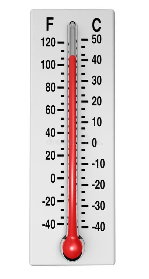классицистический термометр стоковая фотография rf