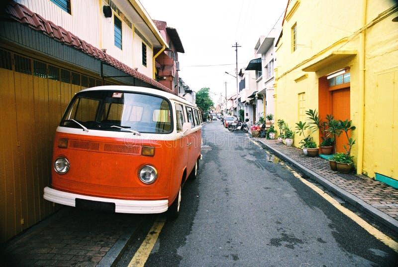 Классицистический фургон туриста стоковое изображение