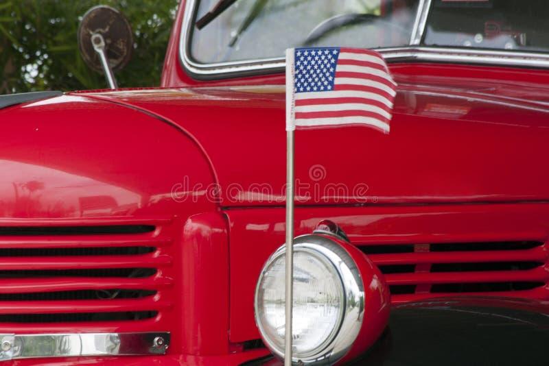 Классическая американская тележка доджа стоковая фотография