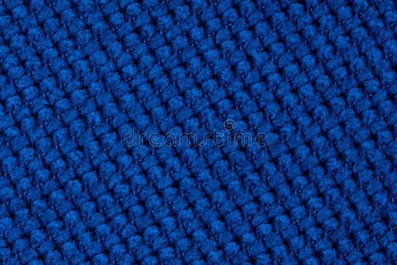 Классический синий полотно пустое полотно стоковая фотография rf
