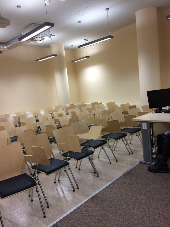 Класс лекции медицинский в Польше Rzeszow стоковые фото