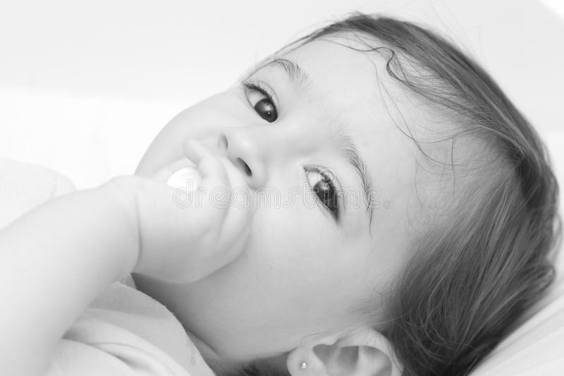 класть младенца стоковое изображение rf