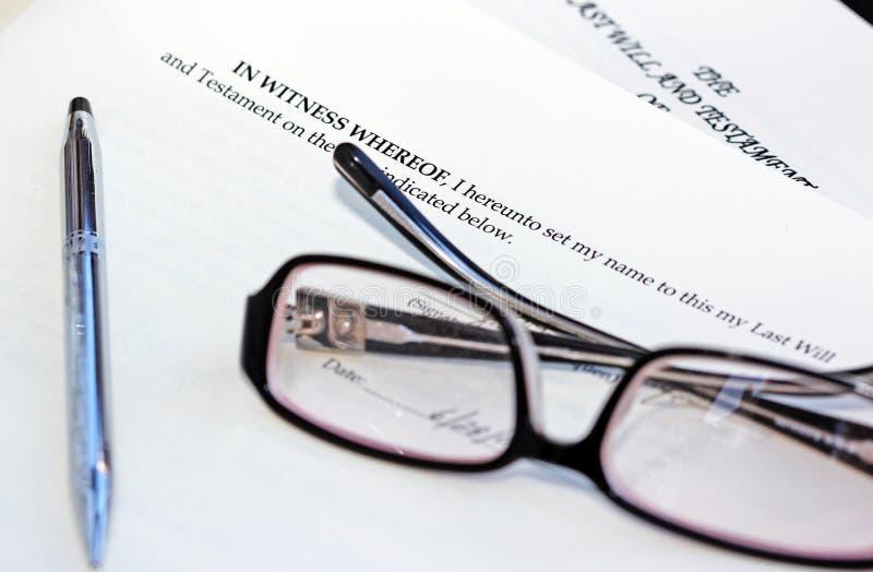 клаузула законная стоковая фотография rf
