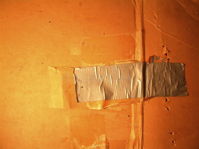 клейкая лента для герметизации трубопроводов отопления и вентиляции Стоковые Изображения RF