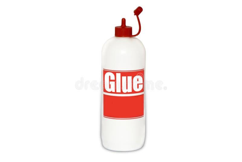 клей бутылки стоковое изображение rf