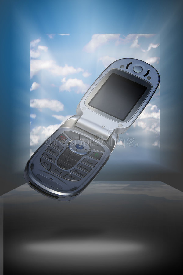 клетка мечтая телефоны стоковое фото rf