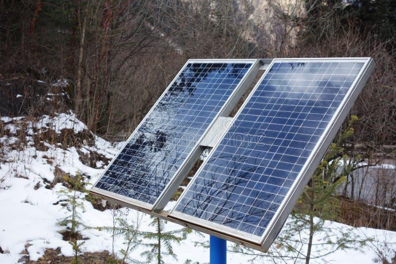 Клетки панелей солнечных батарей стоковое фото rf