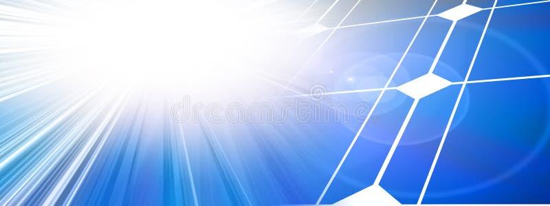 Клетки солнечной силы иллюстрация вектора