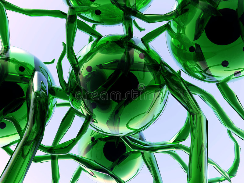 Клетки 40 иллюстрация штока