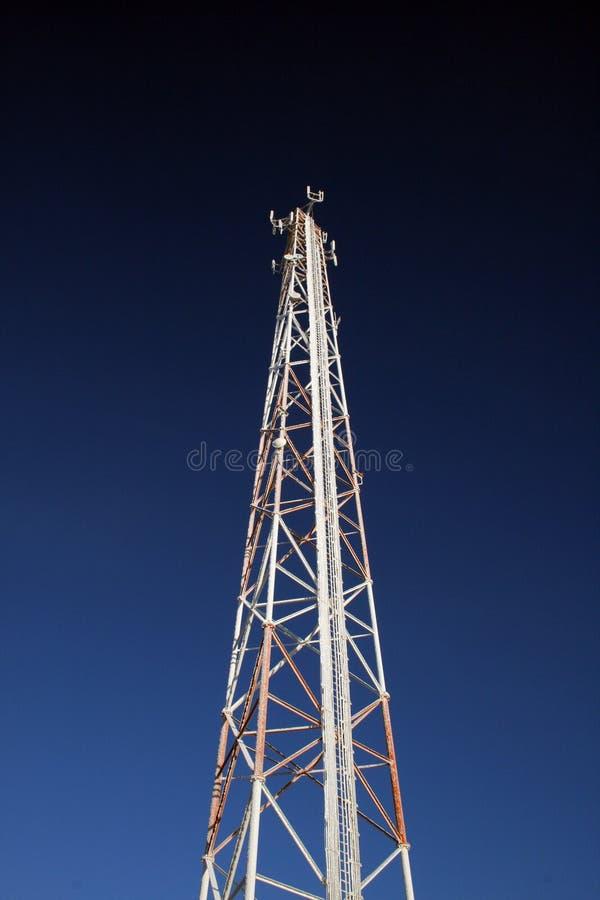 клетчатая замороженная башня стоковое фото rf