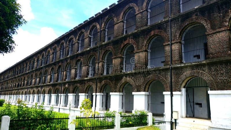 Клетчатая тюрьма, Port Blair стоковые изображения rf