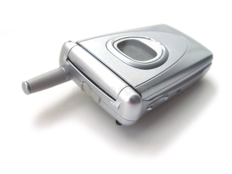 клетчатый закрытый телефон стоковая фотография
