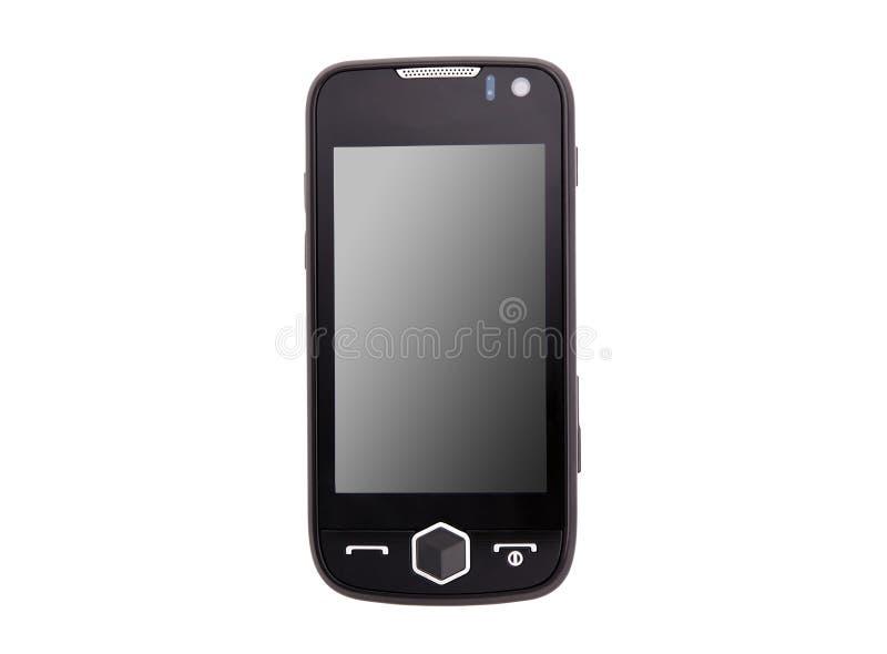 клетчатый сенсорный экран мобильного телефона стоковая фотография rf