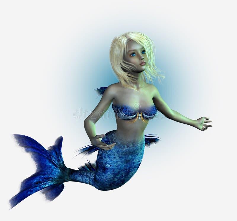 клиппирование включает детенышей путя mermaid бесплатная иллюстрация