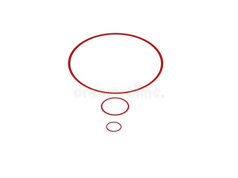 клокочет диалог иллюстрация вектора