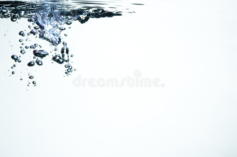 клокочет цветастая вода highlights стоковая фотография rf