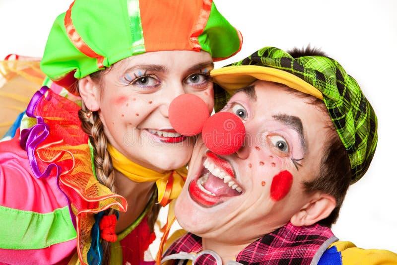 клоуны ся 2 стоковое фото rf